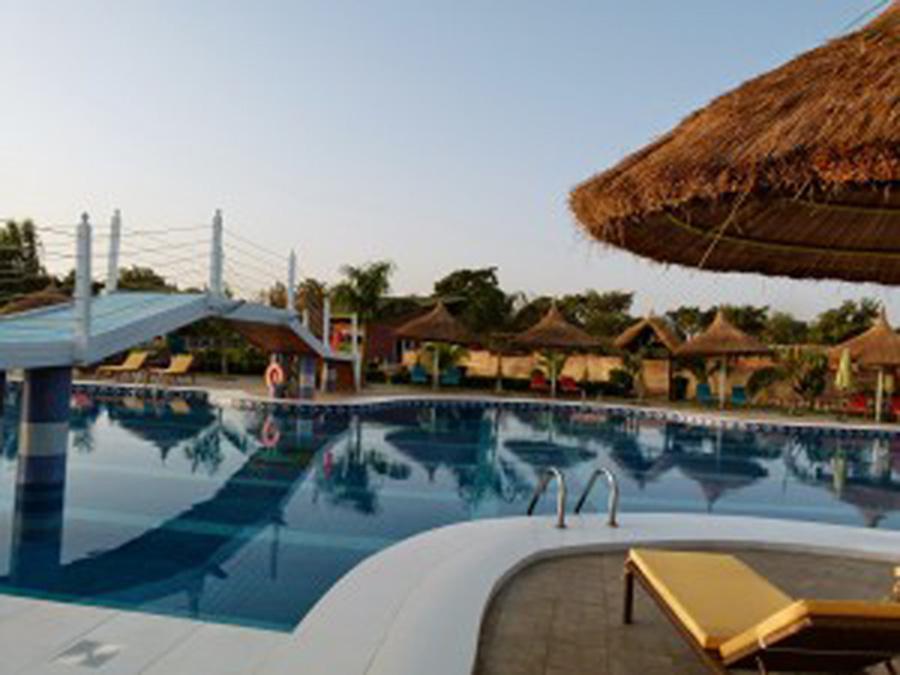 Lagon Lodge Hotel, une belle oasis touristique à Ouagadougou